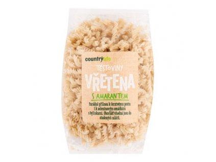 COUNTRY LIFE Těstoviny vřetena s amarantem 300 g