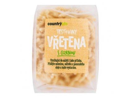 COUNTRY LIFE Těstoviny vřetena s cizrnou 300 g