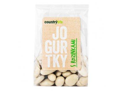 COUNTRY LIFE Jogurtky s rozinkami 100 g