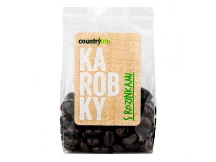 COUNTRY LIFE Karobky s rozinkami 100 g