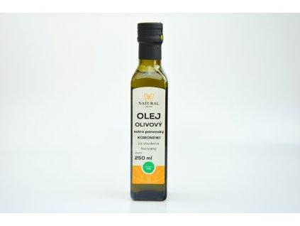 Natural Jihlava Olej olivový extra panenský KORONEIKI 250 ml
