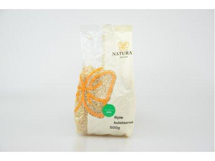 Natural Jihlava Rýže kulatozrnná short 500 g