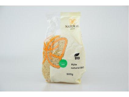 Natural Jihlava Rýže natural BIO 500 g