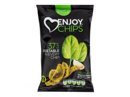 NEW DELESPINE Enjoy Chips se špenátem a česnekem 40 g