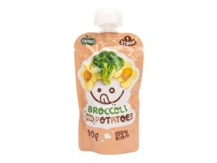 OVKO Příkrm brokolice, brambory BIO 90 g