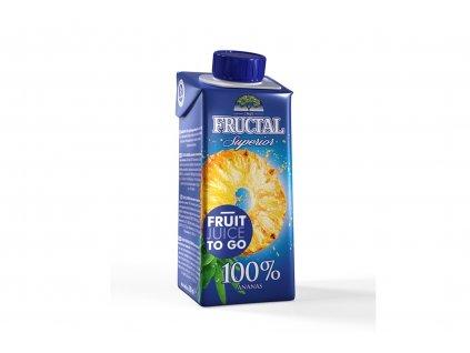 FRUCTAL 100% ananasová šťáva 200 ml