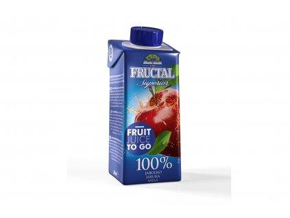 FRUCTAL 100% jablečná šťáva 200 ml