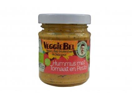 VEGGIEBEL Hummus pesto & tomato BIO 115 g