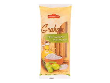 PEKÁRNA KRÁL Tyčinky grahamové s olivovým olejem 100 g