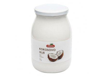 PRIMAVITA Olej kokosový dezodorizovaný 1 l