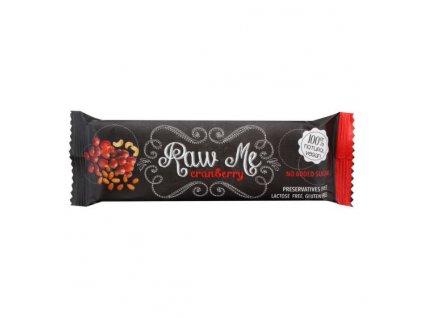RAW ME Tyčinka ovocná s příchutí brusinky 45 g