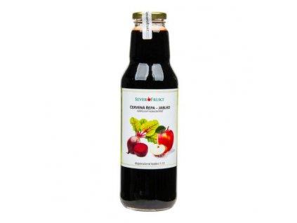 SEVEROFRUKT Koncentrát jablko červená řepa 750 ml