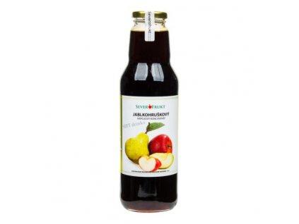 SEVEROFRUKT Koncentrát jablkohruškový 750 ml
