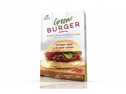 SANUM GUSTUM Bezmasý jáhlový burger s červenou řepou bez lepku 280 g