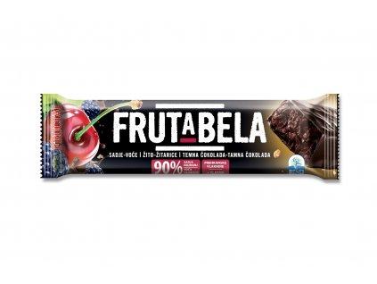 FRUCTAL Frutabela 7 druhů ovoce s čokoládovou polevou bez cukru 35 g