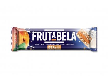 FRUCTAL Frutabela cereální tyčinka s meruňkou v jogurtové polevě 44 g