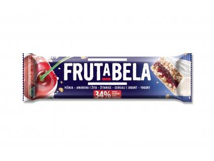 FRUCTAL Frutabela cereální tyčinka s višní v jogurtové polevě 30 g