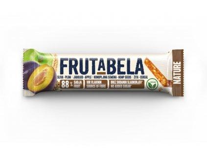 FRUCTAL Frutabela cereální tyčinka se švestkami, jablkem a konopným semínkem 35 g