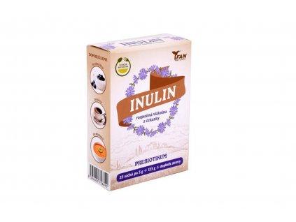 Natural Jihlava Inulin rozpustná vláknina 25x5 g