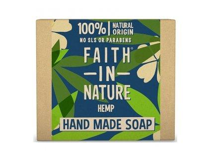 FAITH IN NATURE rostlinné tuhé mýdlo s citronovou trávou 100 g