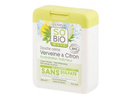 SO'BIO ÉTIC Gel sprchový citronová verbena BIO 300 ml