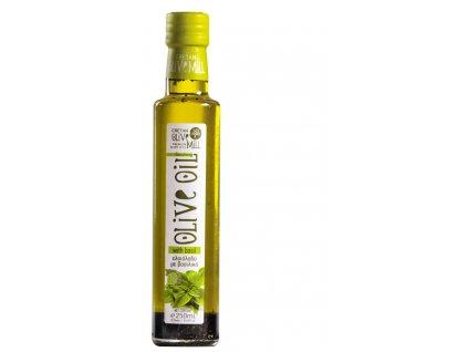 Extra panenský olivový olej s bazalkou 250 ml