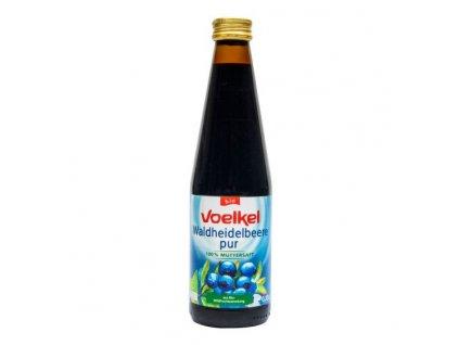 VOELKEL Šťáva borůvková BIO 330 ml