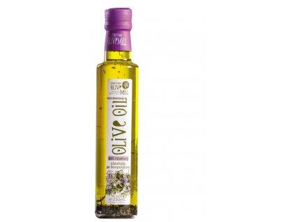 Extra panenský olivový olej s rozmarýnem 250 ml