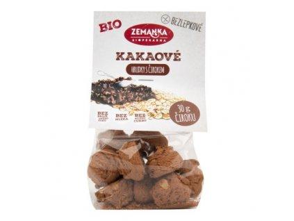 ZEMANKA Sušenky čirokovo vločkové s kakaem bezlepkové BIO 100 g