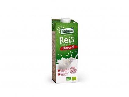 NATUMI Rýžový nápoj natural BIO 1 l
