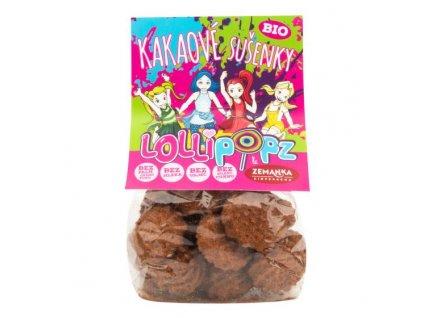 ZEMANKA Sušenky kakaové Lollipopz BIO 100 g