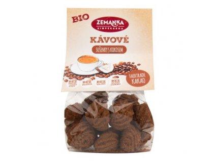 ZEMANKA Sušenky kávové s kokosem BIO 100 g