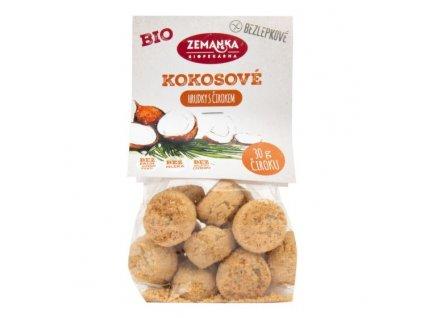 ZEMANKA Sušenky kokosové s čirokem bezlepkové BIO 100 g