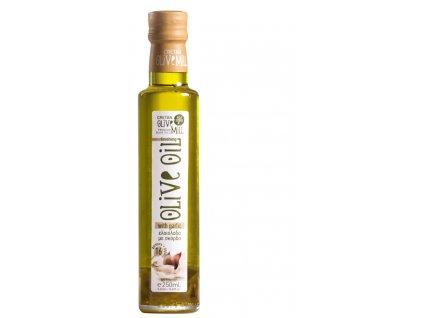 Extra panenský olivový olej s česnekem 250 ml