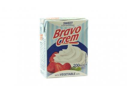 BRAVO CREM Rostlinná šlehačka 200 ml