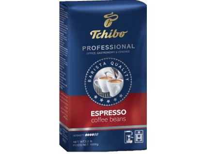 TCHIBO Professional Espresso zrnková káva 1 kg