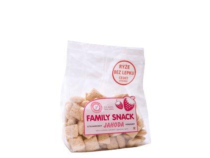 451 O family snack jahoda 165g