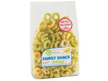 445 O family snack lentils 120g