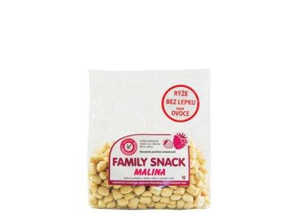 452 O family snack malina 200g