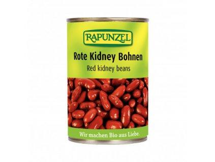 cervene fazole sterilovane rapunzel bio 400 g