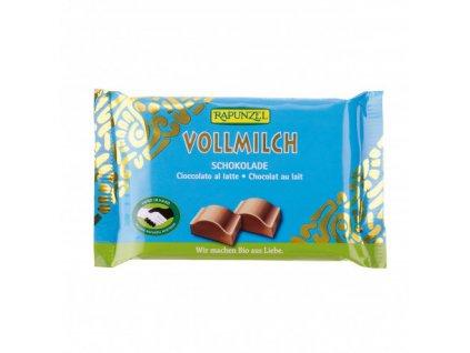cokolada mlecna rapunzel bio 100 g