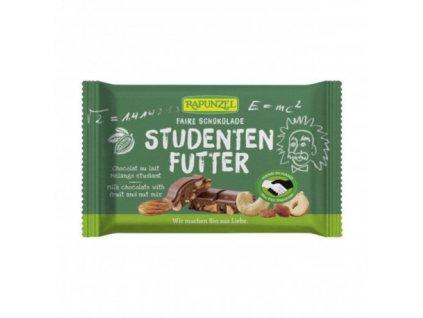 cokolada mlecna studentska pecet rapunzel bio 100 g