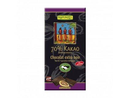 cokolada horka 70 rapunzel bio 80 g