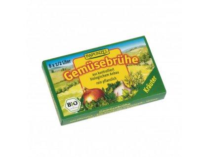zeleninovy vyvar bylinkovy v kostce rapunzel bio 8 ks