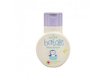 Alpa Batole dětský šampon s olivovým olejem 200 ml