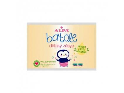 Alpa Batole dětský zásyp s extraktem z listu olivovníku sáček 100 g