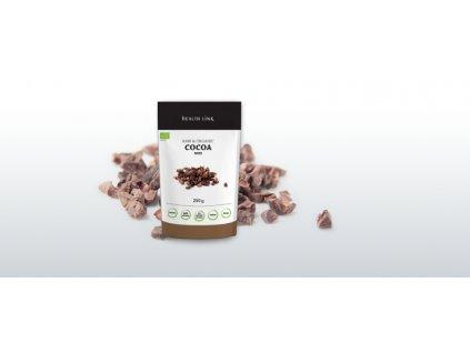 801 O bio raw kakaove boby drcene 250g