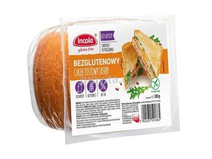 INCOLA Chléb toastový bílý bezlepku 200 g