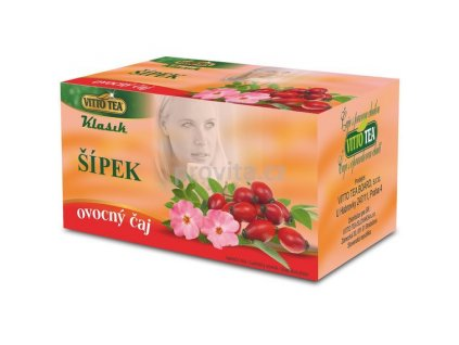 VITTO Čaj porc. Šípek 40 g