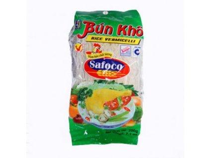 SAFOCO Těstoviny nudle rýžové vlasové 300 g
